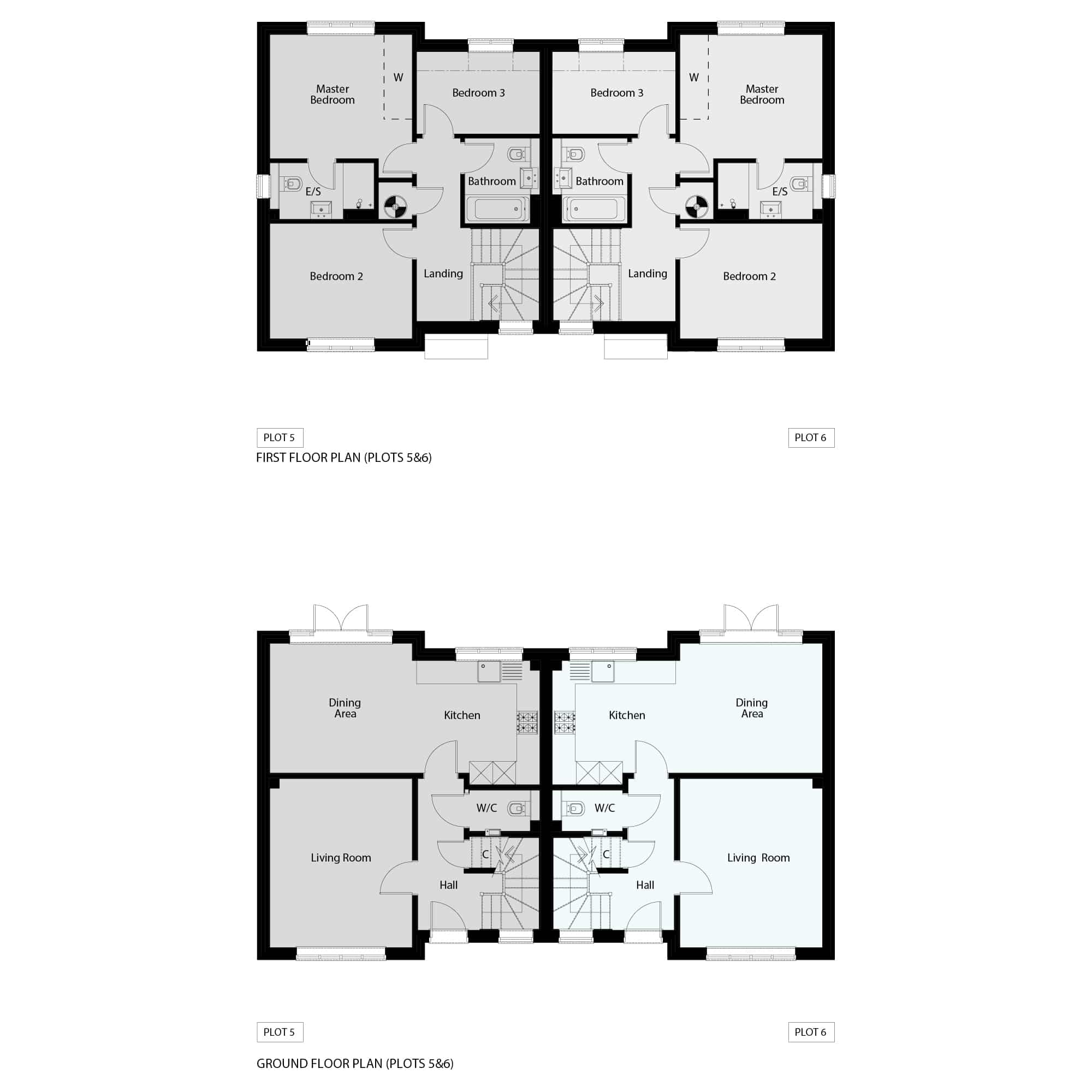 Floor Plans 5 & 6