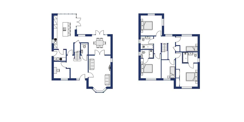 Heritage Fields P2 - The Fordwich Floor Plan NEW