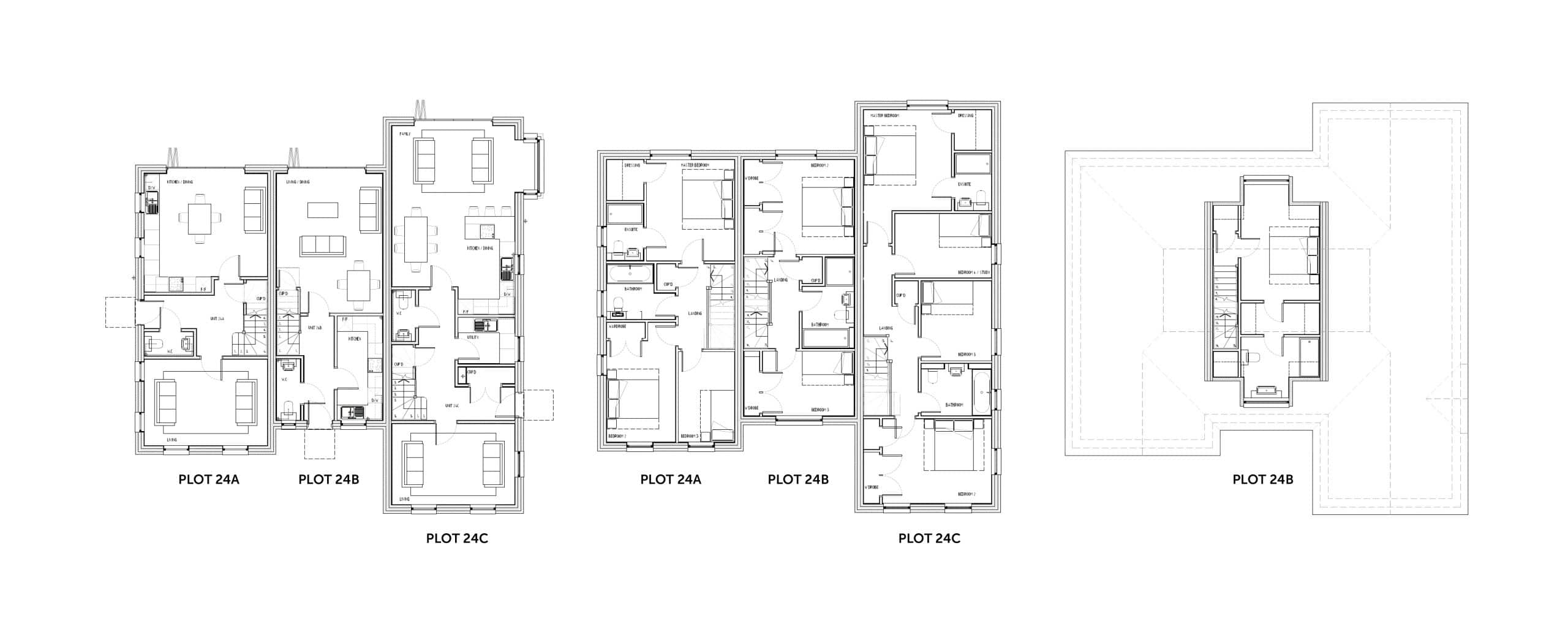 Nursury Fields 24 floor Plans