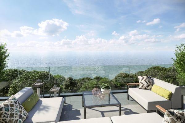 Sandgate Pavilions - Balcony View