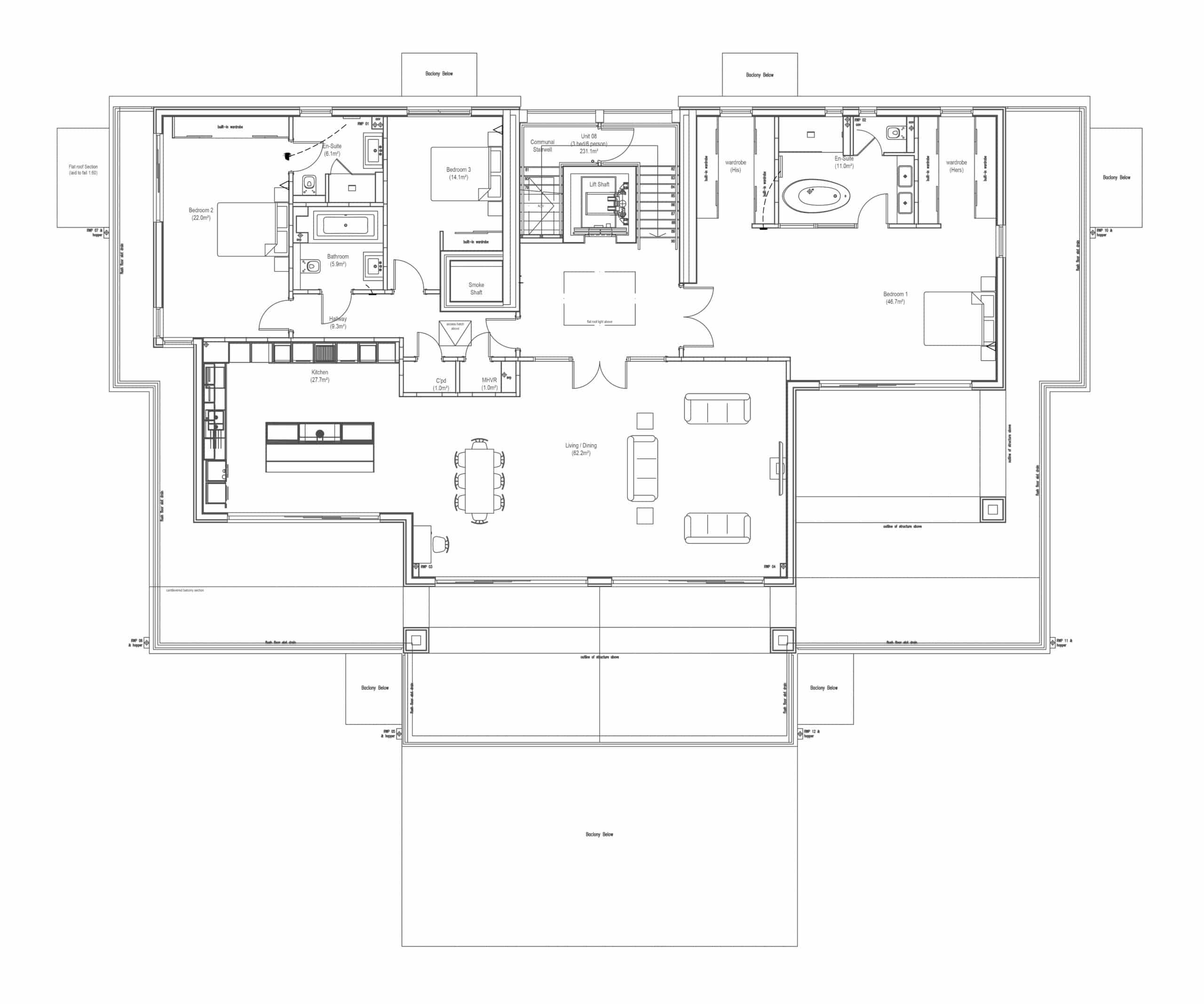 Sandgate The residence Flore Plan Updated-01
