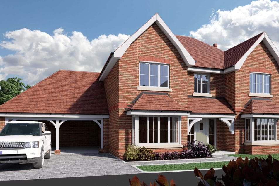Large New Build Home In Hampshire