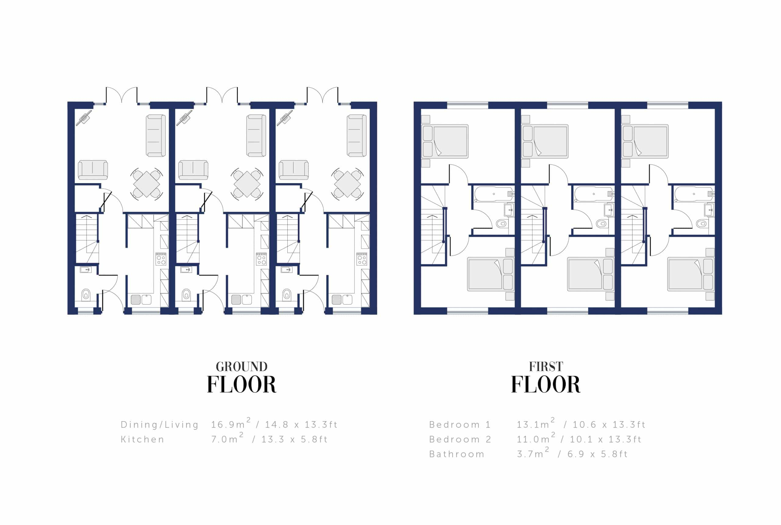 Sunningdale Millers Floor Plan and Sizing for WEB
