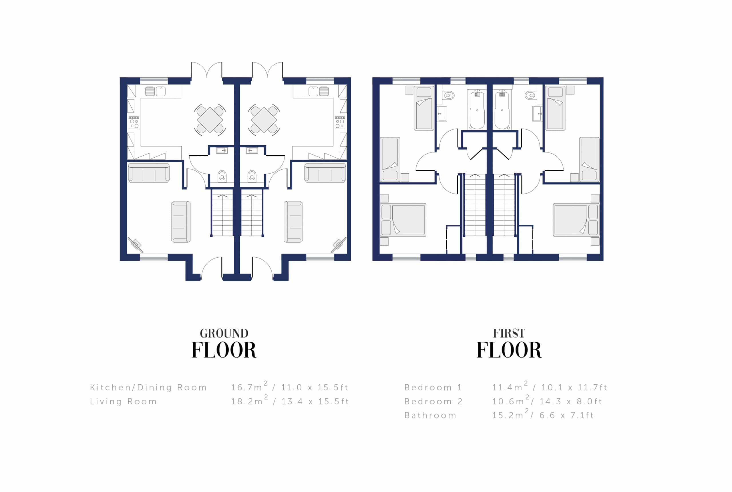 Sunningdale Millers Floor Plan and Sizing for WEB2