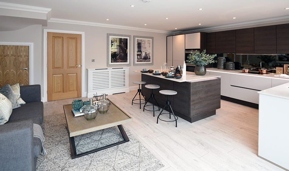 Kitchen Of A New Build Home In The Grove - A Sunningdale Development