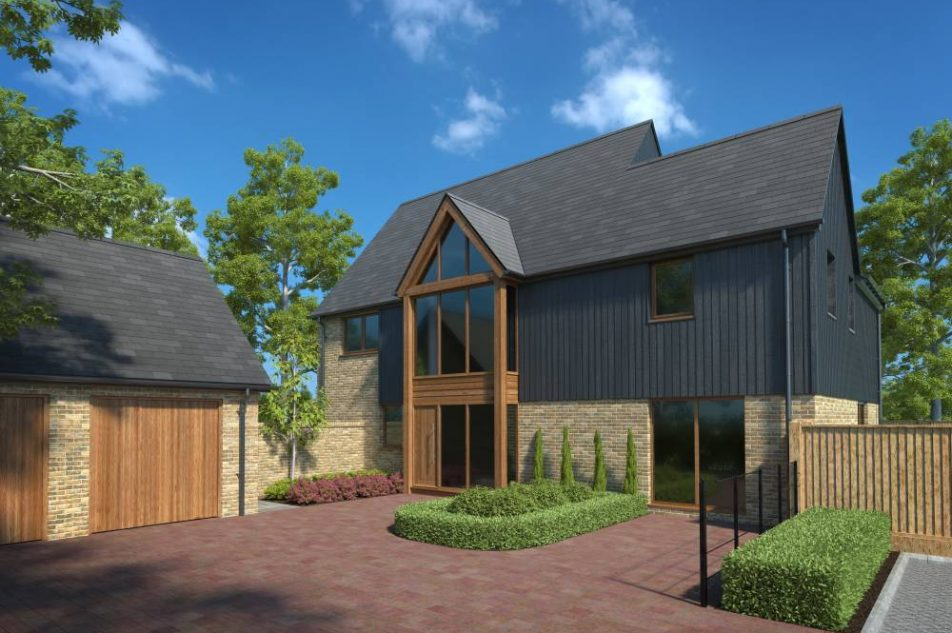 Luxury New Build Home In Queensdown, Kent