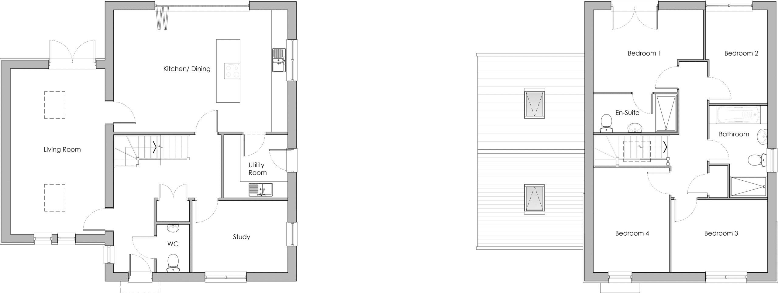 The Potten Floor Plans